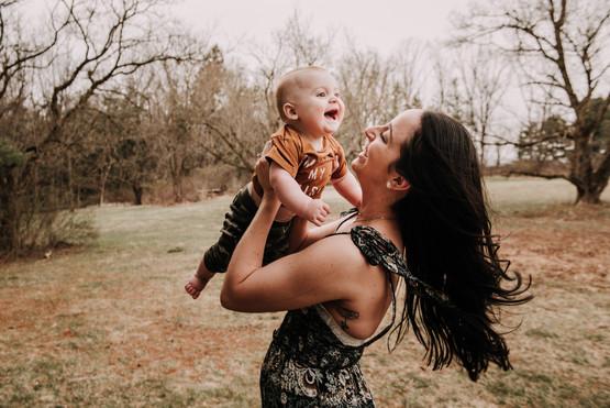 Motherhood Session in Newtown, PA