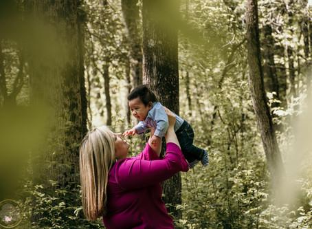 Mommy & Me - Courtney & James