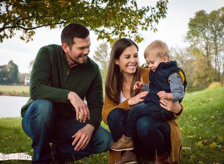 Maternity/Family Shoot in Core Creek Park