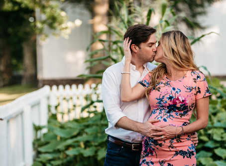 Maternity Session in Washington Crossing, PA
