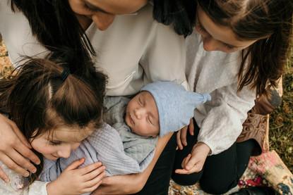 Newborn session in Furlong, PA
