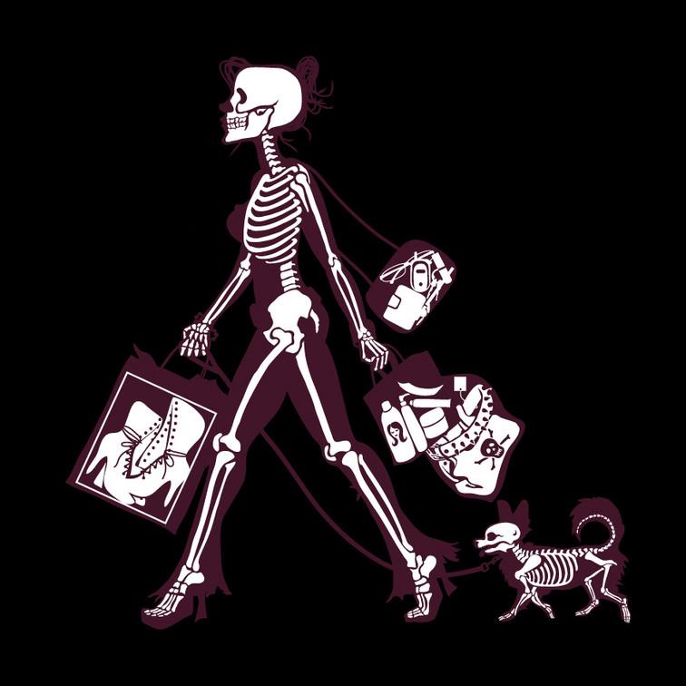 Shopping Skeleton