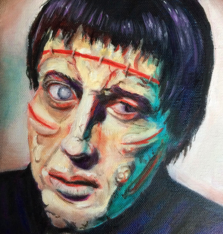 Frankenstein (Christopher Lee)