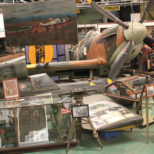 The Spitfire and part of the main museum building