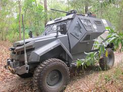 Pacific Rim movie vehicle on display