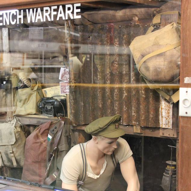 Trench warfare display