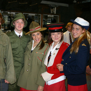 School students immerse themselves in military history