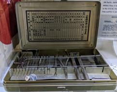 WW2 Japanese dental kit