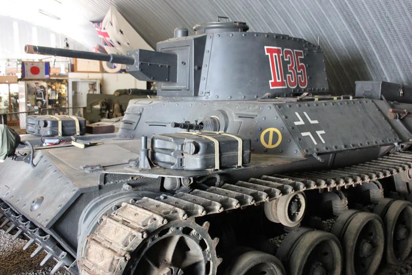 Armour on display