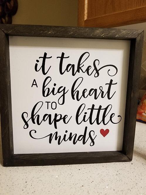 """""""It Takes A Big Heart"""""""