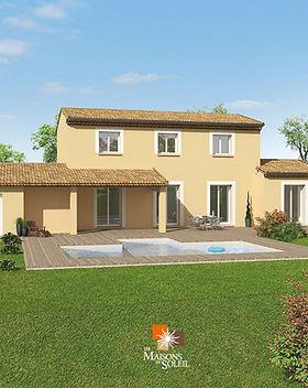 Plan de maison provençale by Les Maisons du Soleil