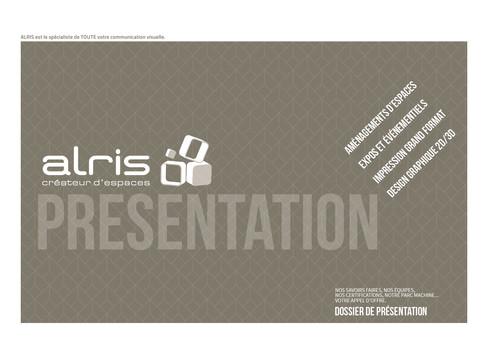 ALRIS_ Dossier de présentation