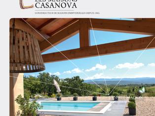 Maisons Casanova _ Plaquette 3 volets