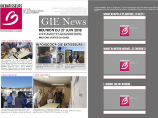 GIE Batisseurs de Provence_Une Newsletter multimedia pour valoriser ce que l'on fait !