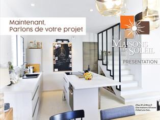 Maisons du Soleil_Book Commercial 12 pages dédié à la présentation des savoirs faire de la marque