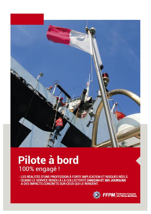 """Plaquette 2 volets """"100% engagé"""""""
