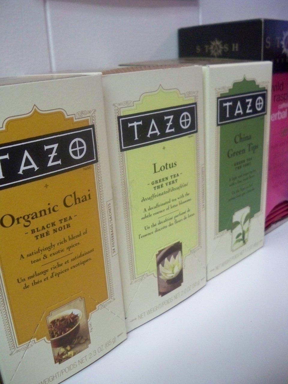 tazo Organic Tea
