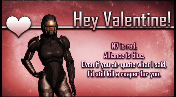Shepard Other Mass Effect Valentine