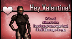 Shepard Other Mass Effect Valentine