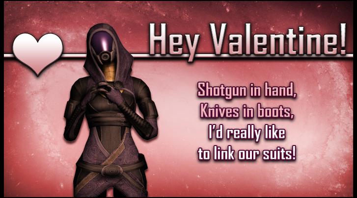 Tali Mass Effect Valentine