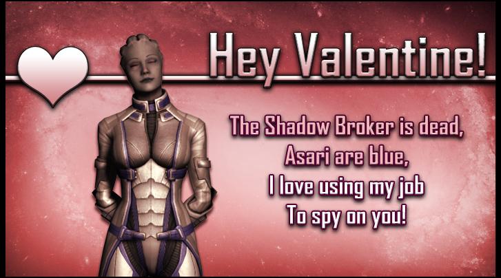 Liara Mass Effect Valentine