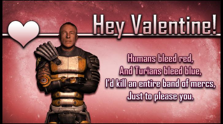 Zaeed Mass Effect Valentine