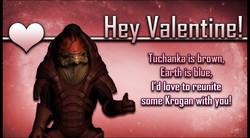 Wrex Mass Effect Valentine