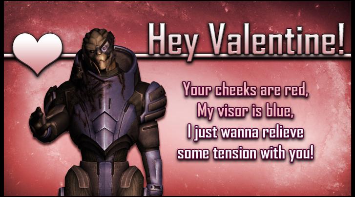 Garrus Mass Effect Valentine