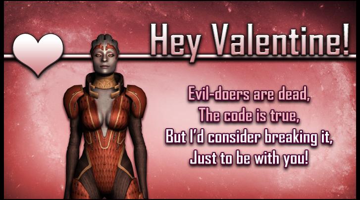 Samara Mass Effect Valentine