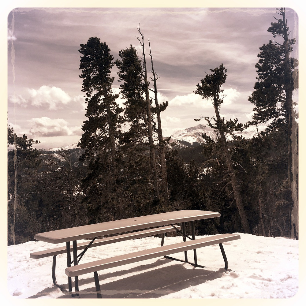 Just another beautiful day on the mountain...