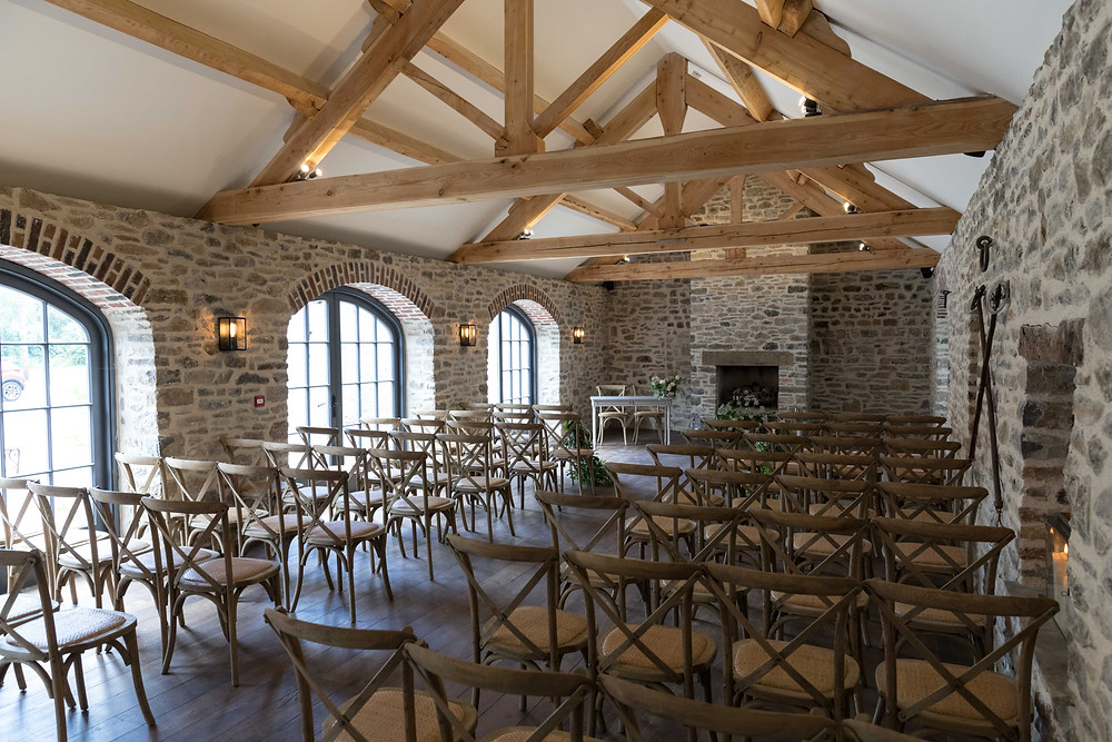 Beautiful ceremony room at Middleton Lodge