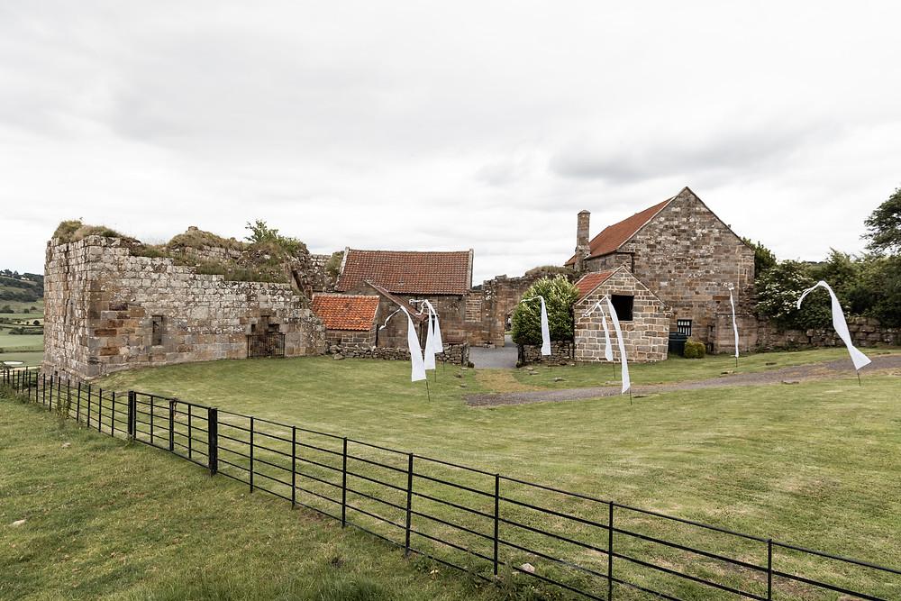 The wedding venue: Dalby Castle