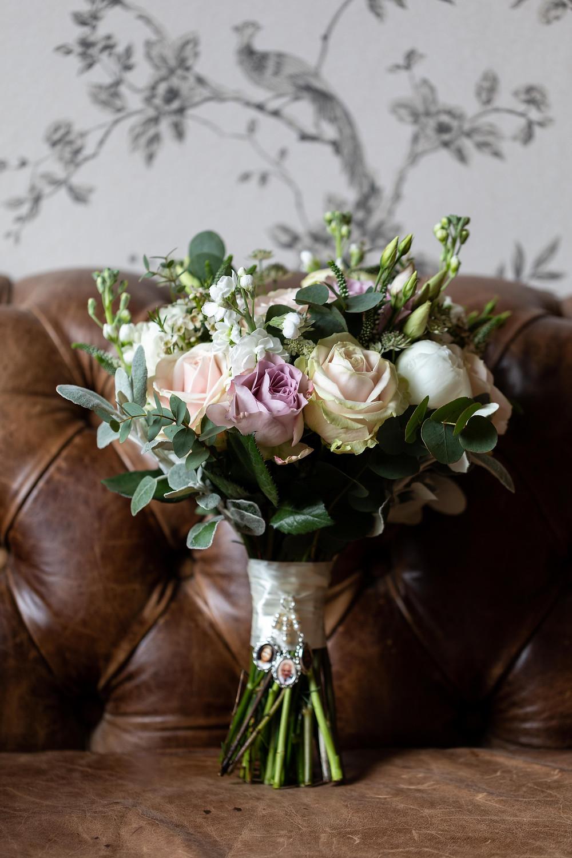 Photograph of the bride's bouquet