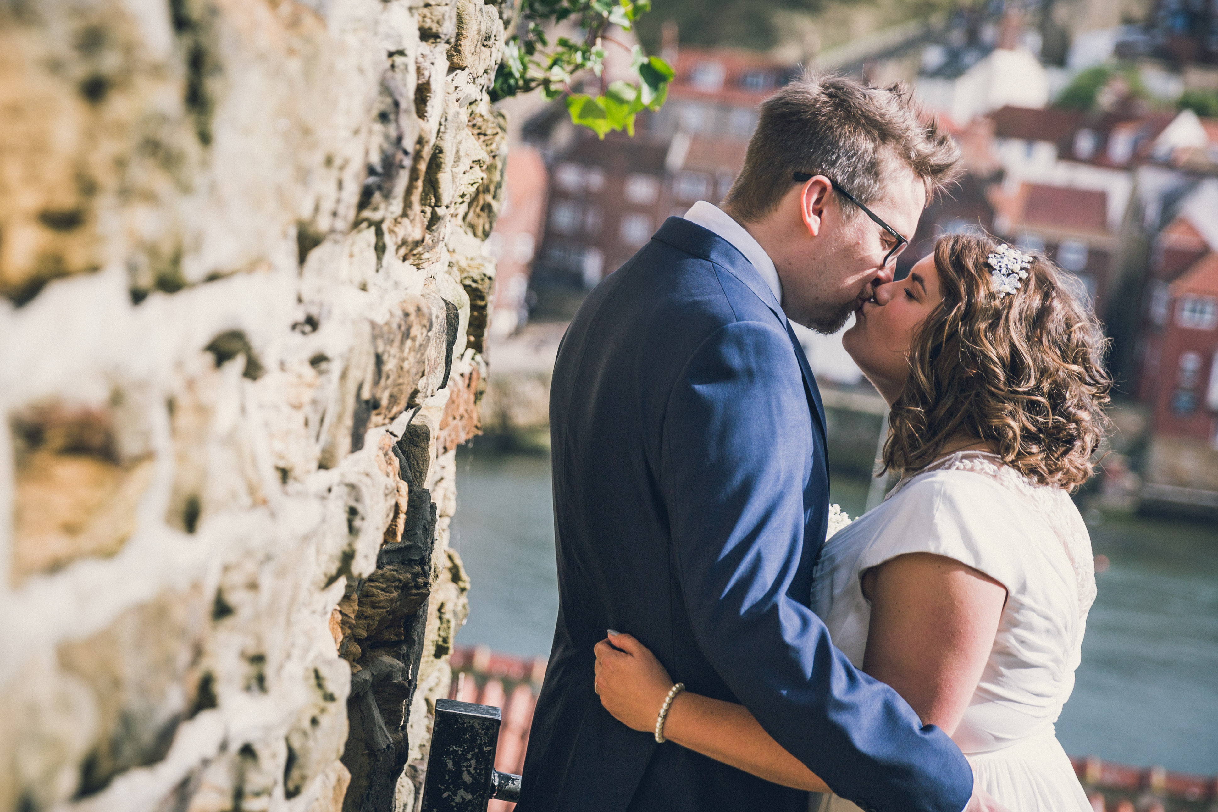 A Whitby wedding photo by Jack Cook
