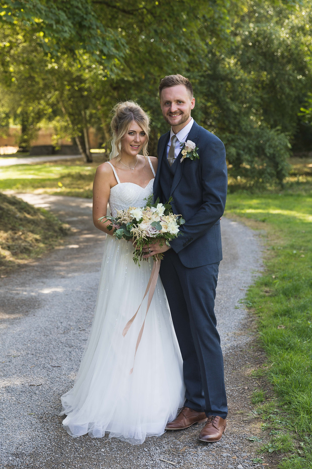 wedding photography: The Bride & Groom just after the ceremony