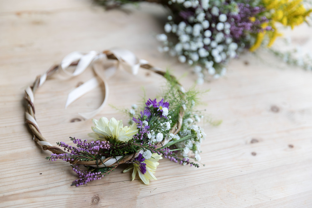 detail wedding photography of the flowers