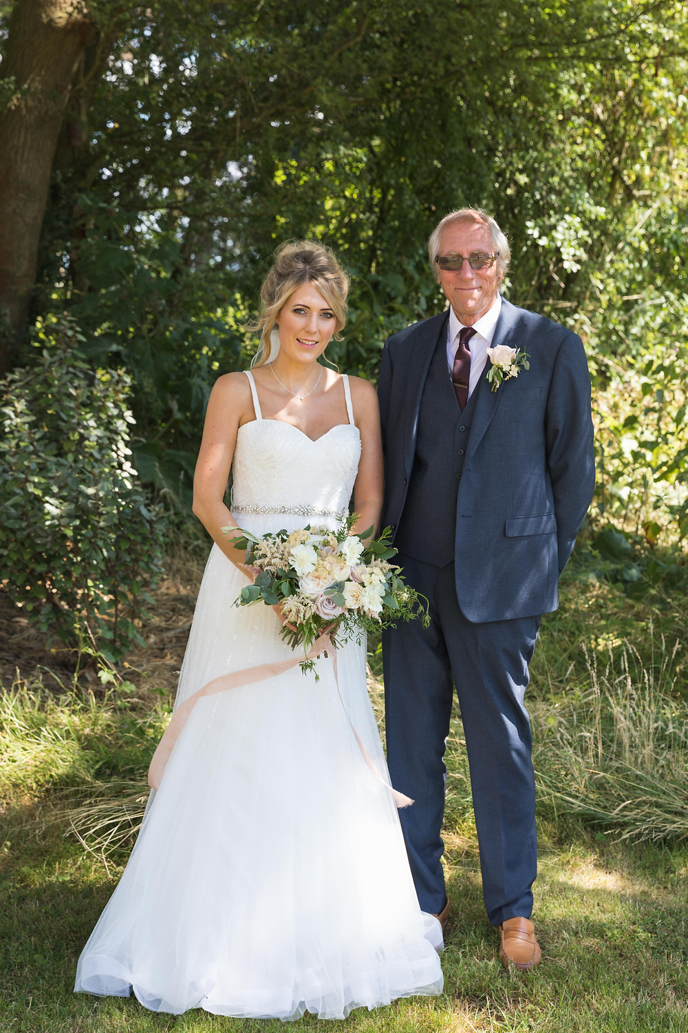 Beautiful portrait of the Bride & her Father