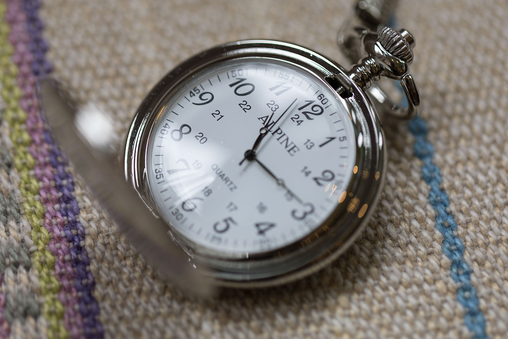 Wedding details: the grooms pocket watch