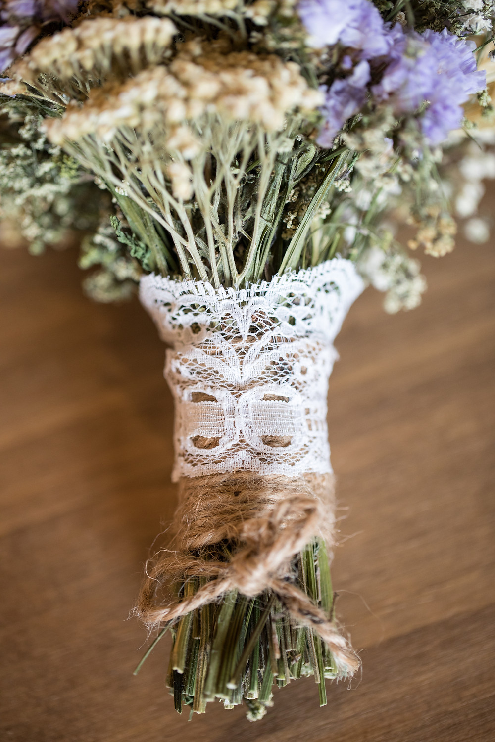 Brides bouquet by Whitby wedding photographer