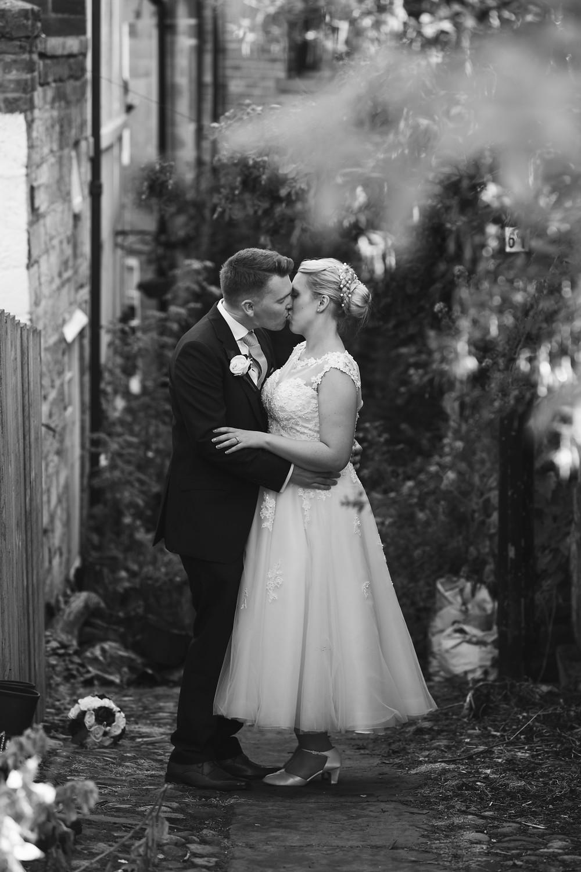 Couple portrait in black & white