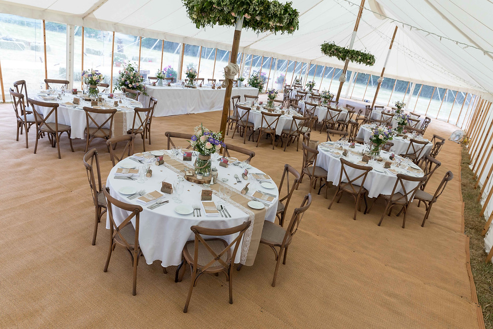 The beautiful wedding Marquee