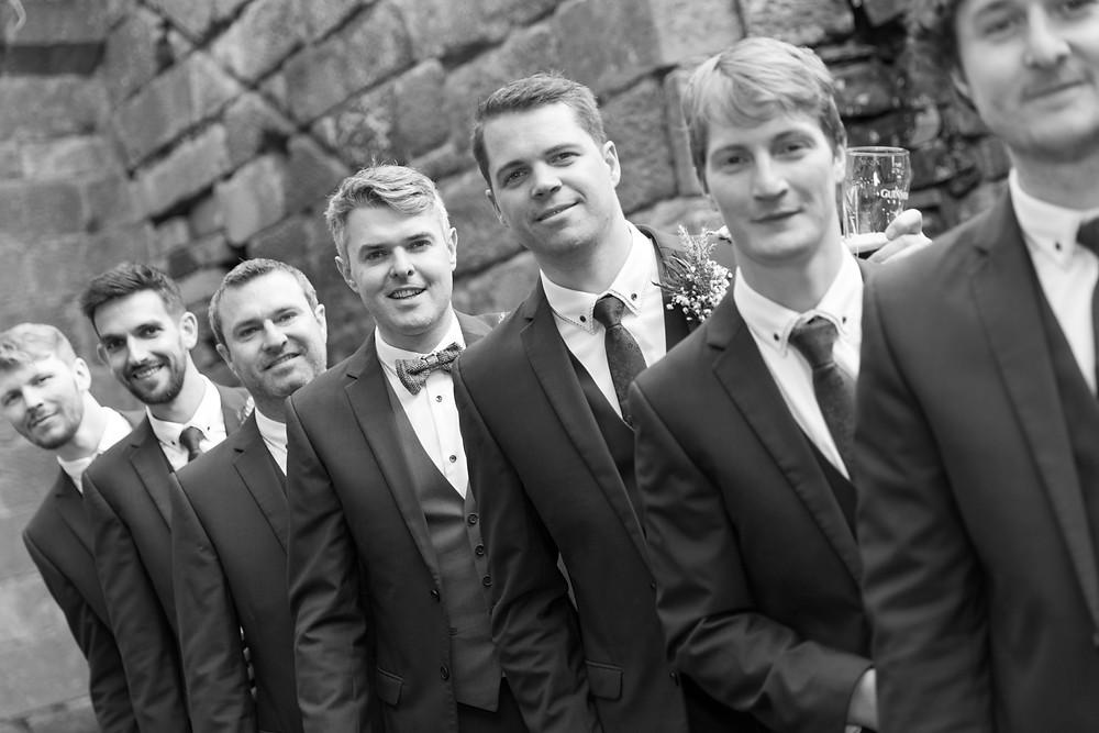 Black & white group shot