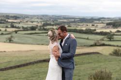 The bride & groom by Jack Cook