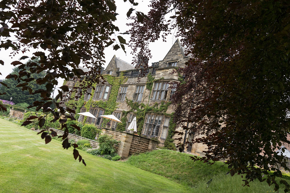The wedding venue: Gisborough Hall