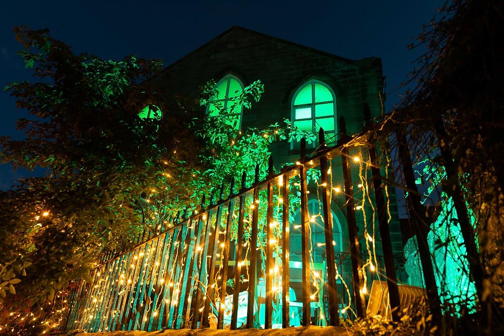 The evening reception venue