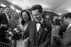 Bride & Groom wedding photograph