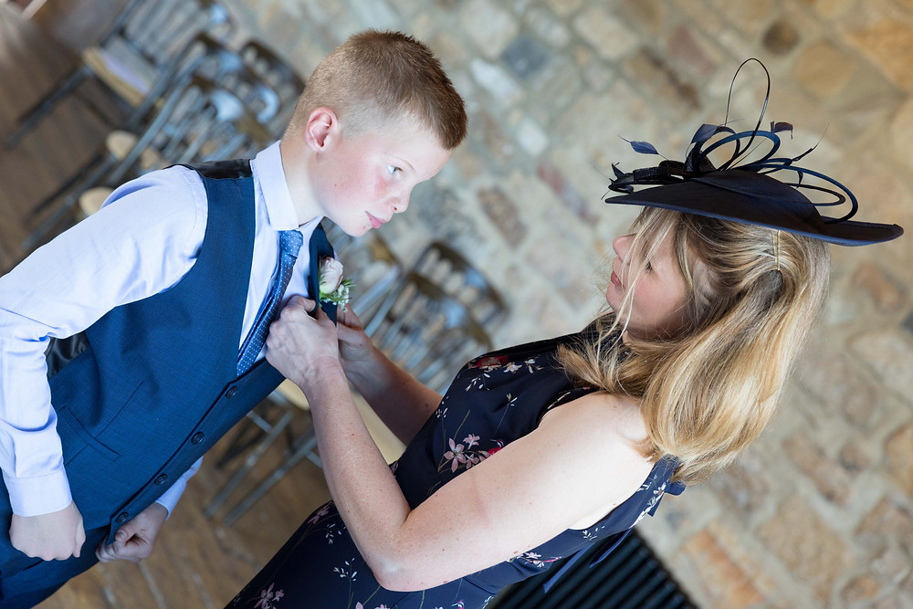 Wedding guests captured by North Yorkshire wedding photographer