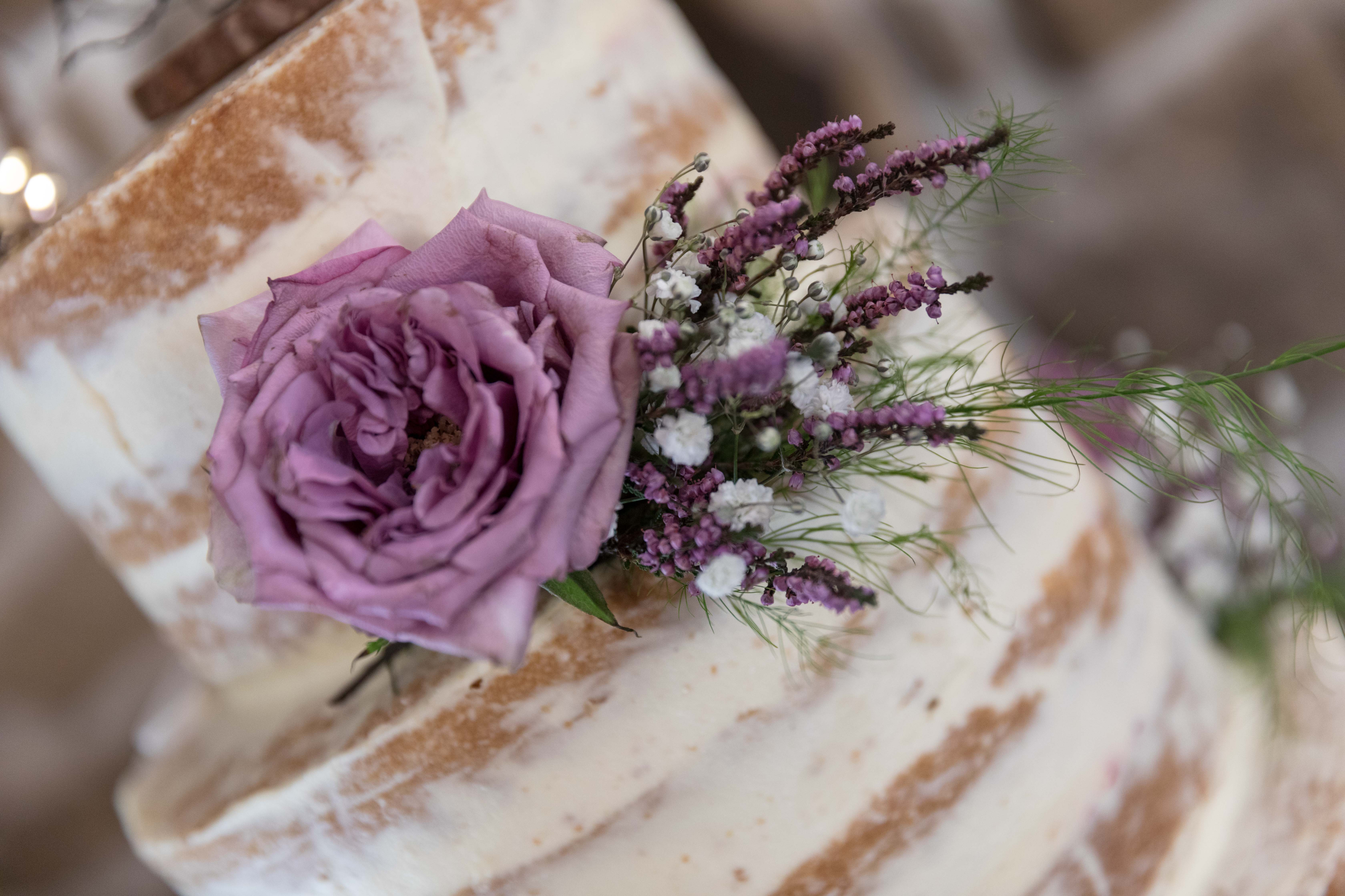 Wedding cake by wedding photographer