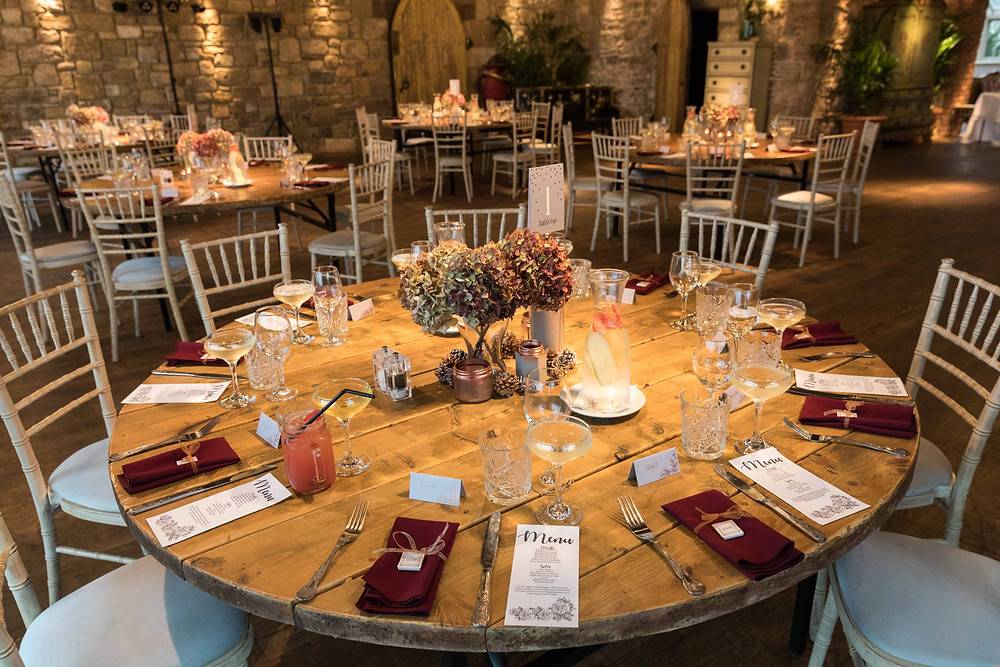 Photo of the table settings