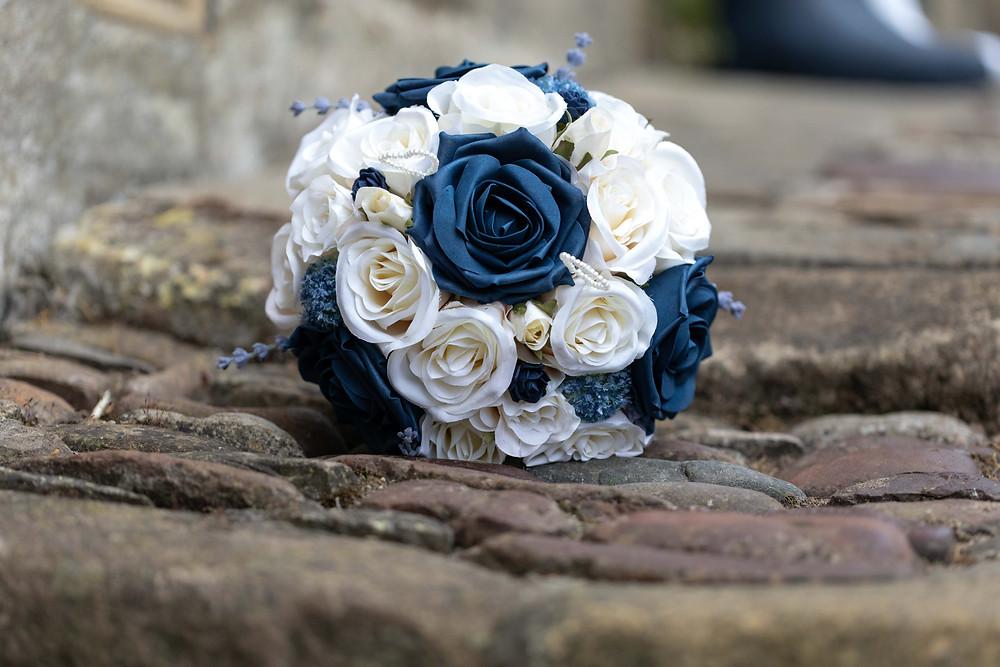 The Brides wedding bouquet